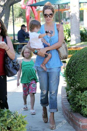 Brooke Burke with Shaya Braven and Neriah