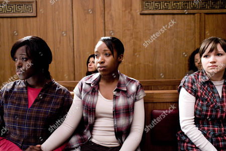 'Law and Order' : UK - TV Pictured L-R: Michelle Asante as Leona Farrah, Venetia Campbell as Dionne Farrah and Angela Terence as Serena Jackson.  Episode:  'Care'