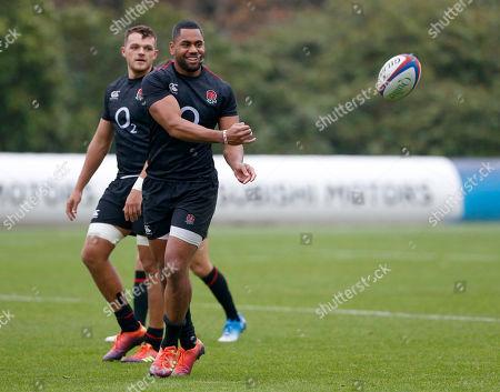 England training session, Bagshot