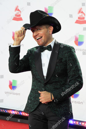 Editorial photo of Latin Grammy Awards, Arrivals, Las Vegas, USA - 15 Nov 2018