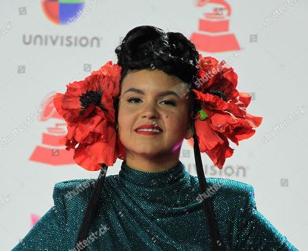 Stock Photo of Liliana Saumet of Colombian band Bomba Estereo