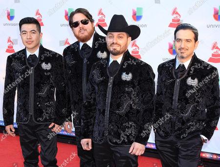 Miguel Gaxiola, Jorge Gaxiola, Mingo Bolanos, Adrian Gonzalez of Voz de Mando
