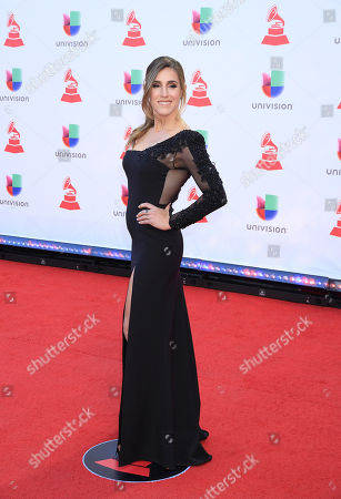 Editorial picture of Latin Grammy Awards, Arrivals, Las Vegas, USA - 15 Nov 2018