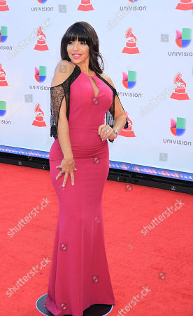 Editorial photo of Latin Grammy Awards, Arrivals, Las Vegas, USA - 15 Nov 2018