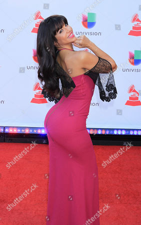 Editorial picture of Latin Grammy Awards, Arrivals, Las Vegas, USA - 15 Nov 2018