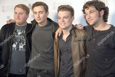 Yannick Waingarten, Nic Collins, Jacob Maicol and Joey Rodriguez of band WYK