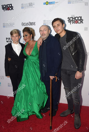 Matt Collins, Orianne Collins, Phil Collins, Nic Collins