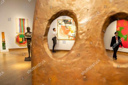 Editorial image of Christie's Modern British Art highlights, London, UK - 16 Nov 2018