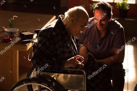 Stock Photo of Tony Dalton as Lalo and Mark Margolis as Don Hector Salamanca