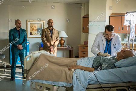 Daniel Moncada as Leonel Salamanca, Luis Moncada as Marco Salamanca, John Jaret as Dr. Diseth and Mark Margolis as Hector Salamanca