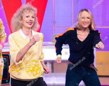 Penny Lancaster, Lizzie Webb, Carol McGiffin