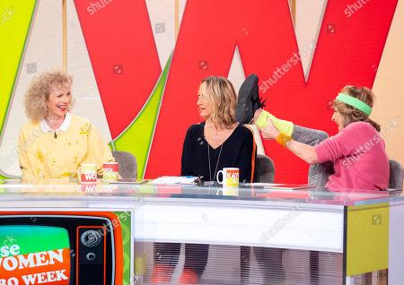 Lizzie Webb, Carol McGiffin and Kaye Adams