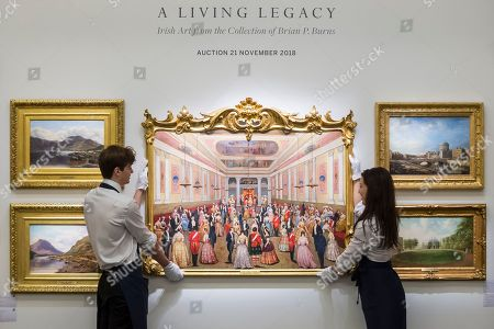 Brian P. Burns 'A Living Legacy' art collection preview, London