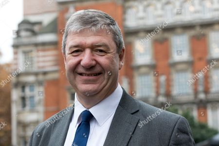 Alistair Carmichael MP arrives to speak to journalists on College Green in Westminster.