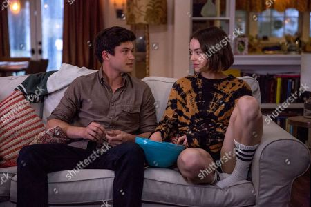 Stock Photo of Graham Phillips as Nate and Brigette Lundy-Paine as Casey Gardner
