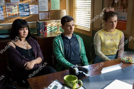 Editorial photo of 'Atypical' TV Show Season 2 - 2018