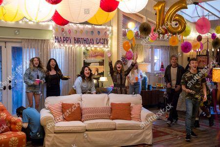 Keir Gilchrist as Sam Gardner, Jennifer Jason Leigh as Elsa Gardner and Graham Rogers as Elsa Gardner