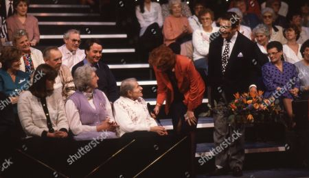 Cilla Black with Ted Rogers and audience