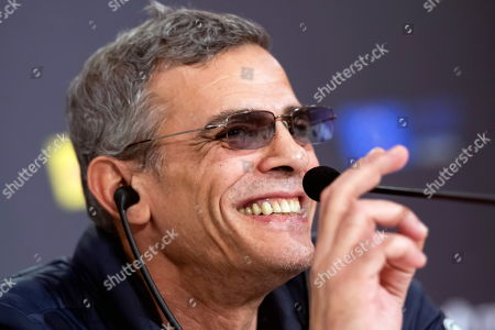 Abdellatif Kechiche attends a press conference after it was announced that he will receive the event's 'Giraldillo de Honor' award and to present his movie 'Mektoub' at the 15th European Film Festival in Seville, southern Spain, 16 November 2018. The movie competes in the official section of the festival running from 09 to 17 November.