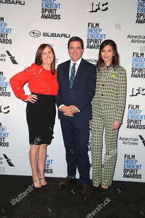 Josh Welsh, Gemma Chan and Molly Shannon
