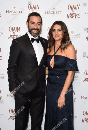 Robert Pires and Jessica Le Marie Pires