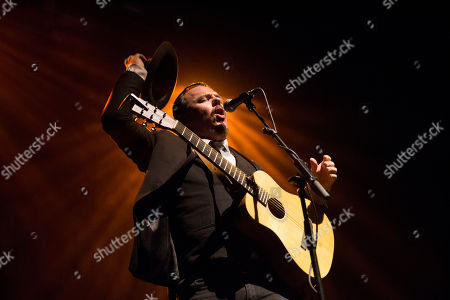 Editorial picture of Jack Lukeman in concert at the O2 Academy, Glasgow, Scotland, UK - 16th November 2018