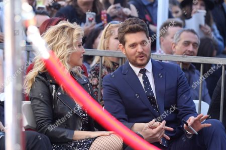 Editorial picture of Michael Buble Honored with a Star on the Hollywood Walk of Fame, Los Angeles, USA - 16 Nov 2018