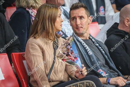 l: Miroslav Klose , FC Bayern Basketball vs. ZSKA Moskau, Basketball, Euroleague, 16.11.2018