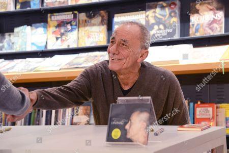 Editorial photo of Roberto Vecchioni 'L Infinito' album release, Rome, Italy - 11 Nov 2018