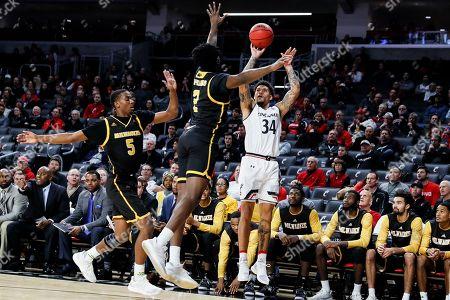 Editorial photo of Milwaukee Basketball, Cincinnati, USA - 16 Nov 2018