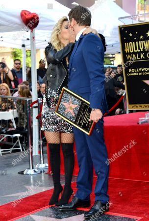 Stock Photo of Michael Buble and Luisana Lopilato