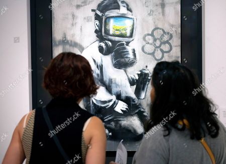 'Banksy: Who's Laughing Now' auction preview, Hong Kong