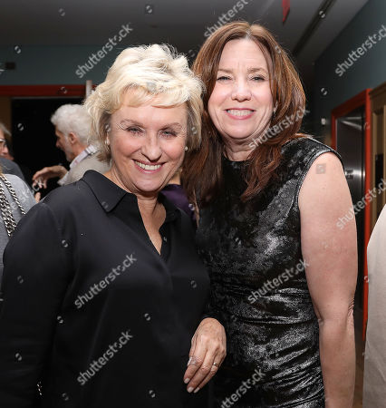 Tina Brown and Molly Thompson