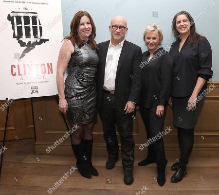 Molly Thompson, Alex Gibney (Exec. Producer), Tina Brown and Blair Foster (Director)