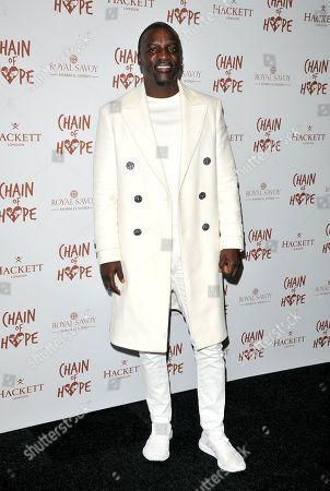 Stock Photo of Akon (Aliaume Damala Badara Akon Thiam)