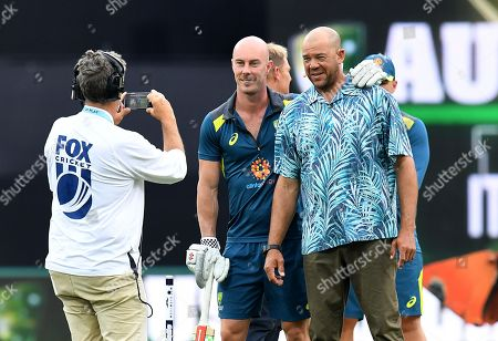 Editorial photo of T20 International match between Australia and South Africa, Gold Coast - 17 Nov 2018