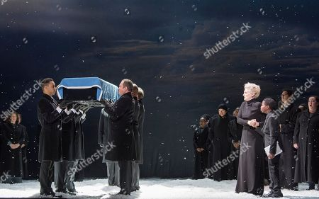 Editorial picture of 'War Requiem' by Benjamin Britten performed by English National Opera at the London Coliseum, UK, 15 Nov 2018