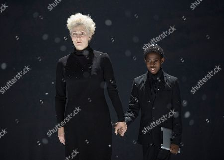 Editorial image of 'War Requiem' by Benjamin Britten performed by English National Opera at the London Coliseum, UK, 15 Nov 2018