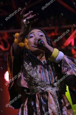 Editorial photo of WOMAD Festival in Gran Canaria, Las Palmas De Gran Canaria, Spain - 16 Nov 2018