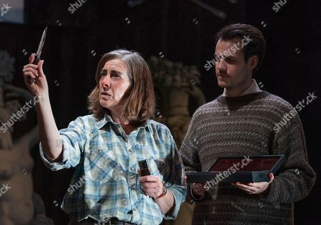 Editorial image of 'Switzerland' Play by Joanna Murray-Smith performed at the Ambassador's Theatre, London, UK, 16 Nov 2018