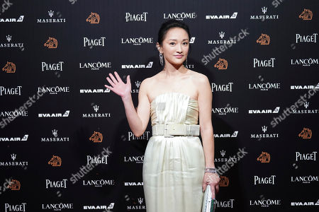 "Chinese actress Zhou Xun arrives at the 55th Golden Horse Awards in Taipei, Taiwan, . Zhou is nominated for Best Leading Actress for the film ""Last Letter"" at this year's Golden Horse Awards -one of the Chinese-language film industry's biggest annual events"