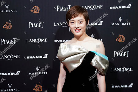 "Chinese actress Sun Li arrives at the 55th Golden Horse Awards in Taipei, Taiwan, . Sun is nominated for Best Leading Actress for the film ""Shadow"" at this year's Golden Horse Awards -one of the Chinese-language film industry's biggest annual events"