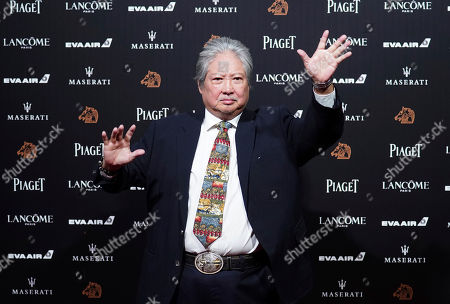 Stock Photo of Hong Kong actor Sammo Hung poses on the red carpet at the 55th Golden Horse Awards in Taipei, Taiwan, . Hung is the guest at this year's Golden Horse Awards, one of the Chinese-language film industry's biggest annual events