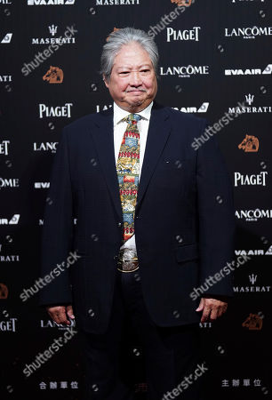 Stock Image of Hong Kong actor Sammo Hung poses on the red carpet at the 55th Golden Horse Awards in Taipei, Taiwan, . Hung is the guest at this year's Golden Horse Awards, one of the Chinese-language film industry's biggest annual events