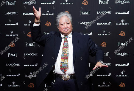 Hong Kong actor Sammo Hung poses on the red carpet at the 55th Golden Horse Awards in Taipei, Taiwan, . Hung is the guest at this year's Golden Horse Awards, one of the Chinese-language film industry's biggest annual events