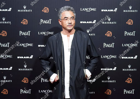 """Stock Picture of Chinese director Pema Tseden arrives at the 55th Golden Horse Awards in Taipei, Taiwan, . Pema Tseden is nominated for Best Director for the film """"Jinpa"""" at this year's Golden Horse Awards -one of the Chinese-language film industry's biggest annual events"""