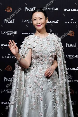 "Chinese actress Zhao Tao arrives at the 55th Golden Horse Awards in Taipei, Taiwan, . Zhao is nominated for Best Leading Actress for the film ""Ash Is Purest White"" at this year's Golden Horse Awards -one of the Chinese-language film industry's biggest annual events"