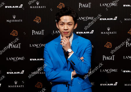 "Taiwanese actor Lee Hong-chi arrives at the 55th Golden Horse Awards in Taipei, Taiwan, . Lee is nominated for Best Supporting Actor for the film ""Cities of Last Things"" at this year's Golden Horse Awards -one of the Chinese-language film industry's biggest annual events"