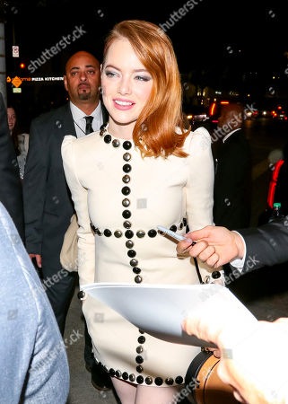 Emma Stone out and about, Los Angeles