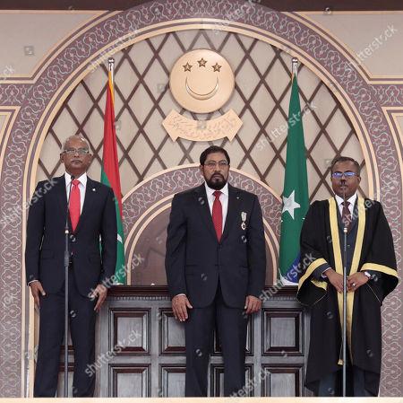Editorial picture of New President, Male, Maldives - 17 Nov 2018
